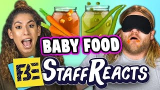 BABY FOOD! - GUESS THAT FOOD CHALLENGE #4 (ft. FBE STAFF)