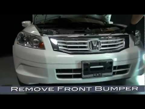 Spyder Auto Installation: 2008-10 Honda Accord 4-Door Sedan DRL Projector Headlight