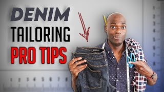 Watch This BEFORE You Tailor Your Jeans!