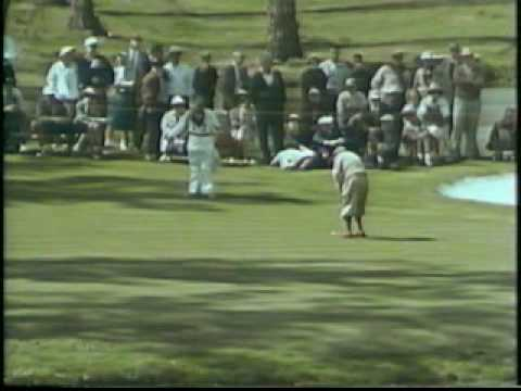 1960 Masters Tournament Winner Arnold Palmer Rare Full Movie (Part 1) Video