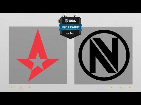 CS:GO - Astralis vs. EnVyUs [Train] Map 1 - ESL Pro League Season 5 - EU Matchday 30