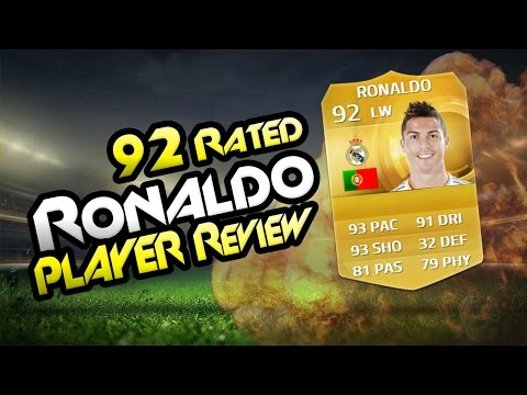FIFA 15-RONALDO 92 Player Review & In Game Stats Ultimate Team