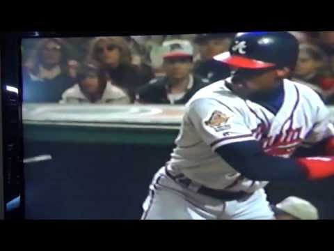 Chipper Jones, Fred McGriff, Ryan Klesko Atlanta Braves Sluggers!