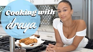 Cooking With Draya Michele | Fried Chicken