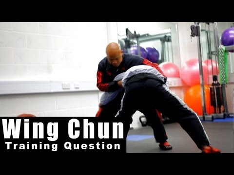 wing chun training - how to deal with mma take down.Q26 Image 1