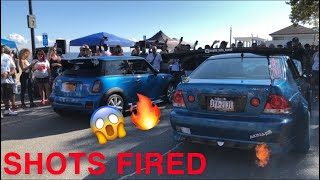 WORLDS LOUDEST 2JZ ALTEZZA SHUTS DOWN THE SHOW!! 2 Step/ Anti-Lag Contest
