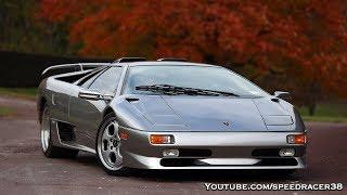 Dream day in a Lamborghini Diablo SV