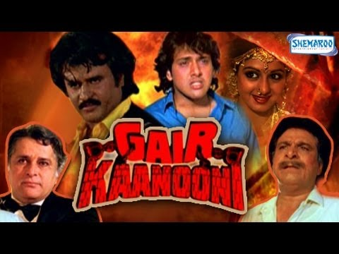 Gair Kaanooni - Part 1 Of 15 - Govinda - Sridevi - Superhit Bollywood Movies video