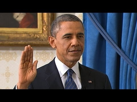 Official Oath of Office 2013: President Obama Inauguration