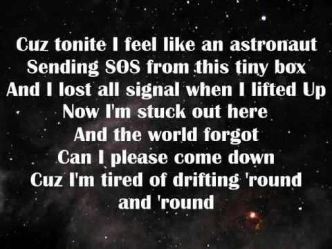 Текст песни Simple Plan - Astronaut перевод, слова песни