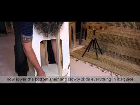 How to assemble yout Slide Art Stool and Side Table