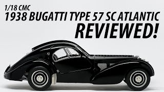 1/18 CMC 1938 Bugatti Type 57 SC Atlantic | REVIEWED!