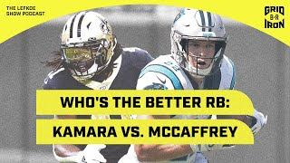 Kamara vs. McCaffrey, Week 1 Storylines, and Week 2 Predictions! | The Lefkoe Show