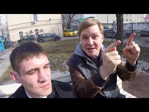 kamikadzedead (Дмитрий Иванов) на интервью с колхозником.