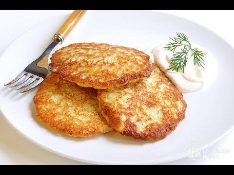 ДРАНИКИ. Деруны из картошки