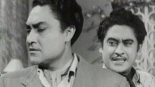 Ashok Kumar pretends unknown to Kishore Kumar | Bhai Bhai - Scene 6/15