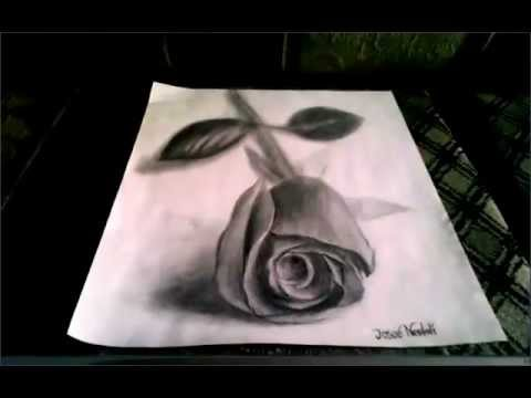 3D drawing dibujos 3d a lapiz - YouTube