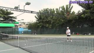 HLV Trương Quang Vũ hướng dẫn Chỉnh sửa động tác Tennis Phần 9