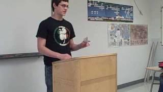 """Persuasive Speech: """"Paper or Plastic?"""""""