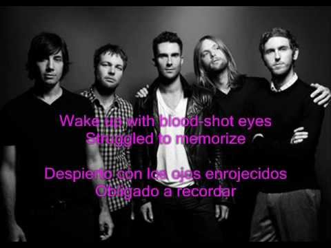 lyric maroon 5 she will b e loved traducido: