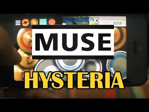 Real Drum Cover Muse - Hysteria BY: Joshua Alvin