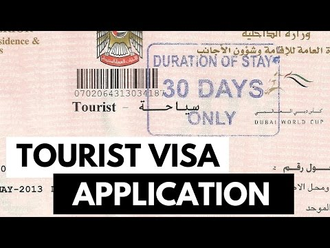 Tourist Visa Application || Pinoy sa Dubai