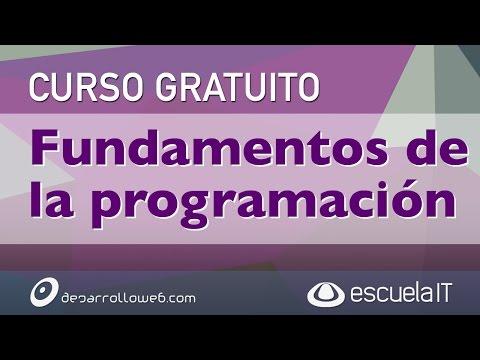 Presentamos el Curso gratuito Fundamentos de la Programación