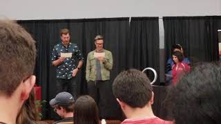 Rhett and Link Order of the Engineer oath at NC State