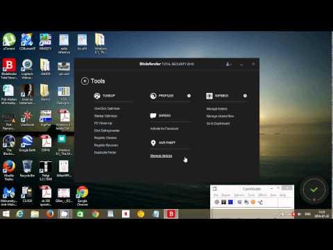 Windows 8.1 Bitdefender total security 2015  antivirus firewall review