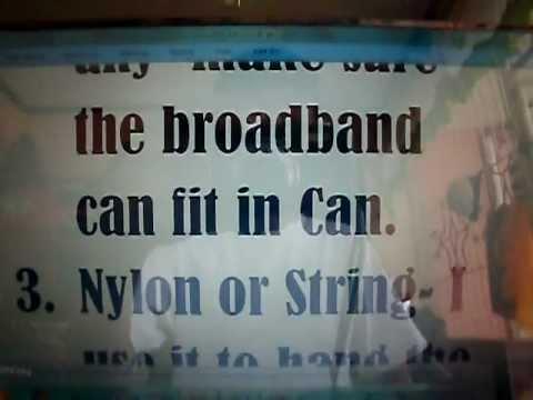 Globe Broadband Booster(2011)