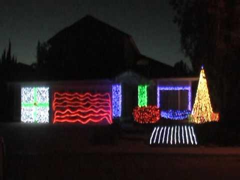 Luces de Navidad al ritmo de Slayer