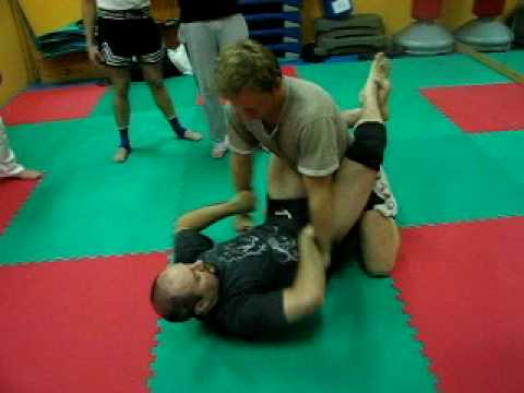 Submission grappling technique Image 1