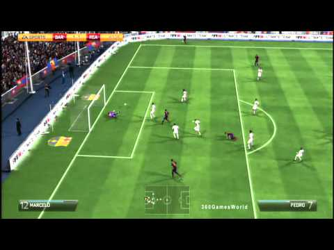 Fifa 14: Messi & Neymar VS C.Ronaldo & Gareth Bale Barcelona vs Real Madrid  (Full Game) HD Gameplay