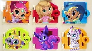 Shimmer and Shine Trapped Doors Surprises Leah Tala Nahal Parisa