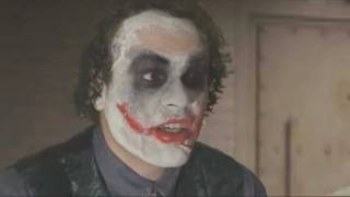 DER BRUTALE BATMAN - The Dark Knight - Joker Interrogation Scene (German Fandub)