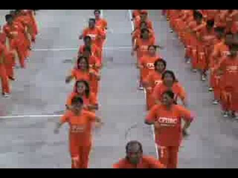NEW-Inmates at CPDRC dance to