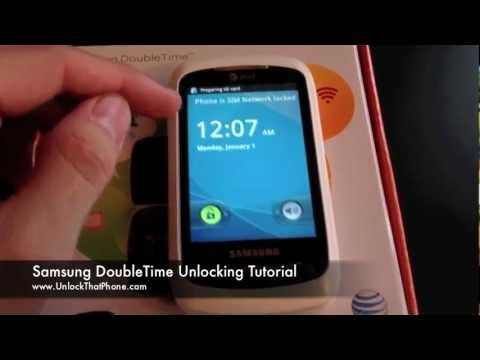 How to Unlock Samsung DoubleTime with Code + Full Unlocking Tutorial!! at&t rogers o2 bell orange
