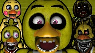CHICA PLAYS: Chica Simulator || ALL OF THE CHICAS PLAY A GAME TOGETHER!!!