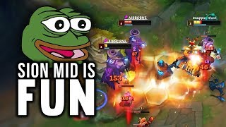 Imaqtpie - SION MID IS FUN!