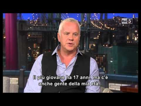 Tim Robbins al David Letterman 04-09-2013 (sub ita)