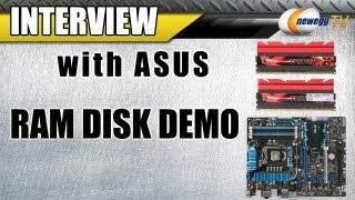 Newegg TV_ ASUS RAM Disk Demonstration w/ G.Skill Trident X 2800 Memory Z77 Platform