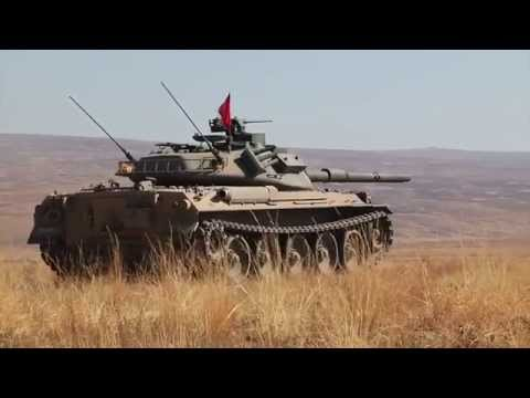 Japanese Type 74s and Stryker MGS live fire exercise