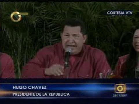 Chavez maldice al foro cristiano evangelico