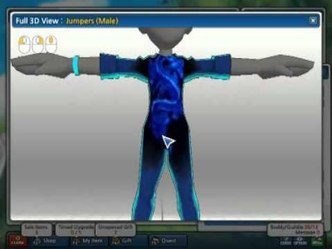 Blue Gear Lost Saga Gear Reskin Blue
