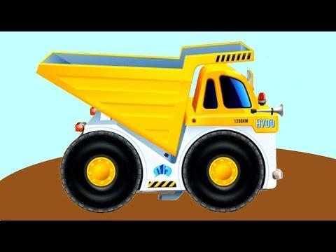 Обзоры мобильных игр - рабочие грузовики - карьерный самосвал