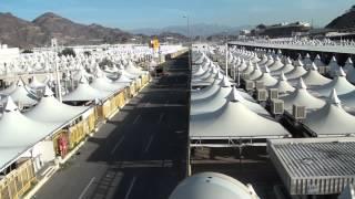 Mina (Makkha) Tents during Hajj