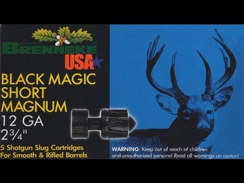 12 Gauge Shotgun Slug test: Brenneke Black Magic Short Magnum