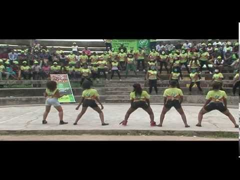 Unilag, Lagos Flash Mob (Glo XMob)