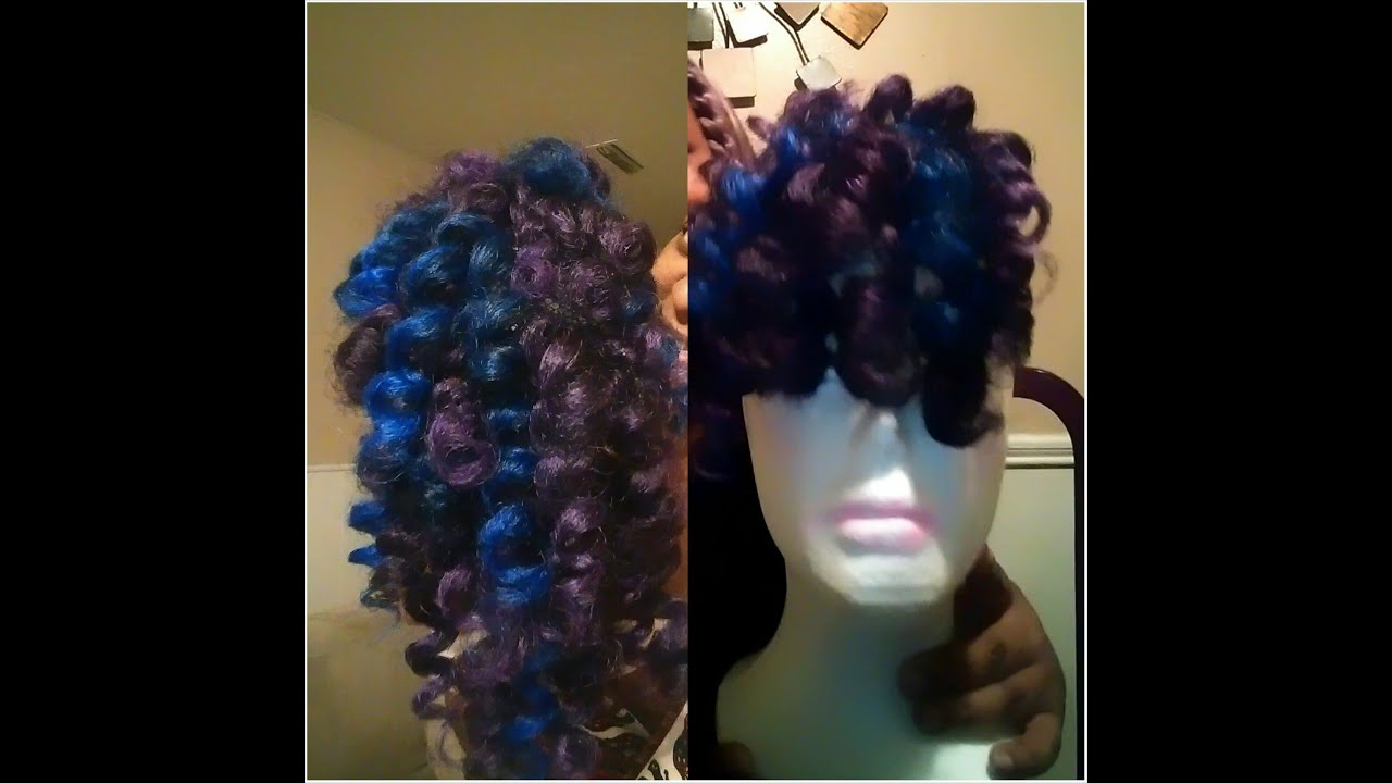 Crochet Braids Wig : Crochet Braids With Marley Hair Wig Crochet Braids Wig Piece Fro