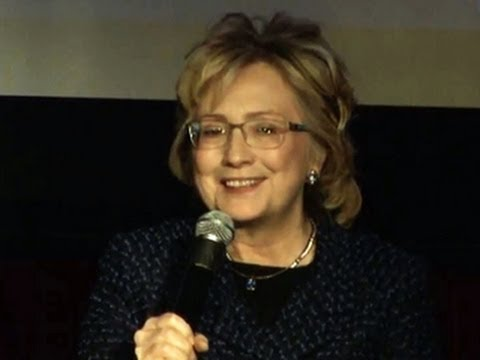 Hillary Clinton tells women to have a thick skin